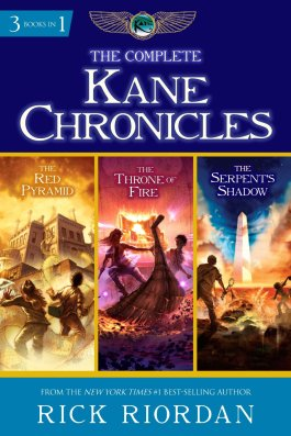 Rick Riordan The Complete Kane Chronicles