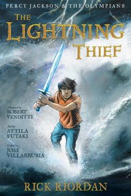 Rick Riordan The Lightning Thief Graphic Novel