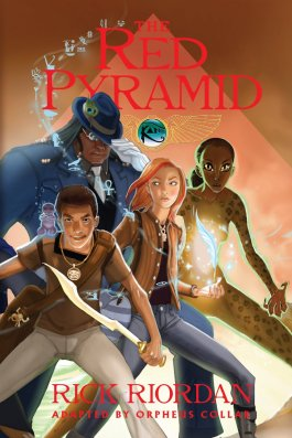 Rick Riordan The Red Pyramid Graphic Novel