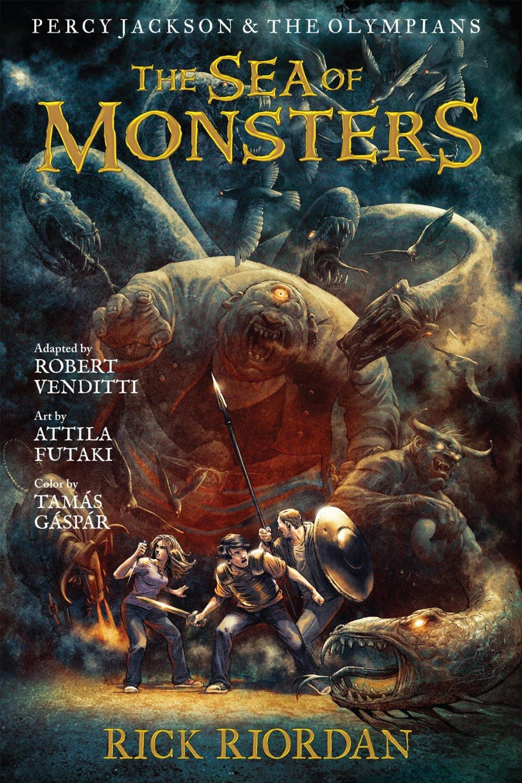 Rick Riordan The Sea Of Monsters Graphic Novel