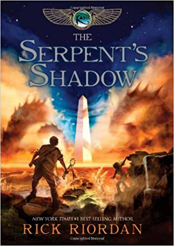 Rick Riordan The Serpent's Shadow