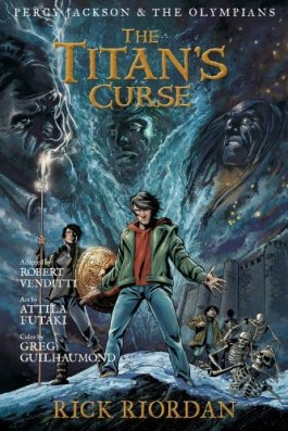 Rick Riordan The Titan's Curse Graphic Novel