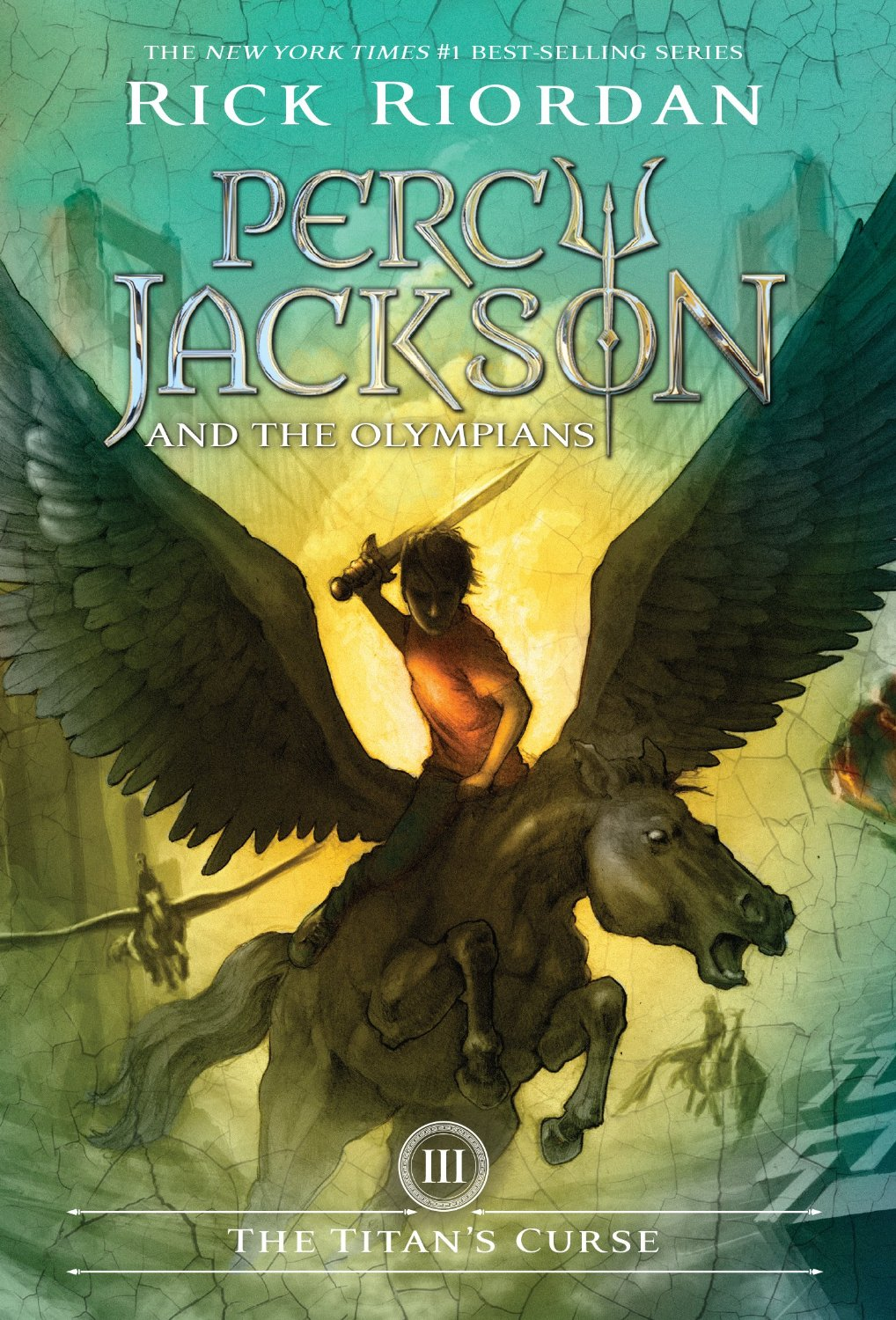 Percy Jackson Book Cover Pictures ~ Rick riordan the titan s curse