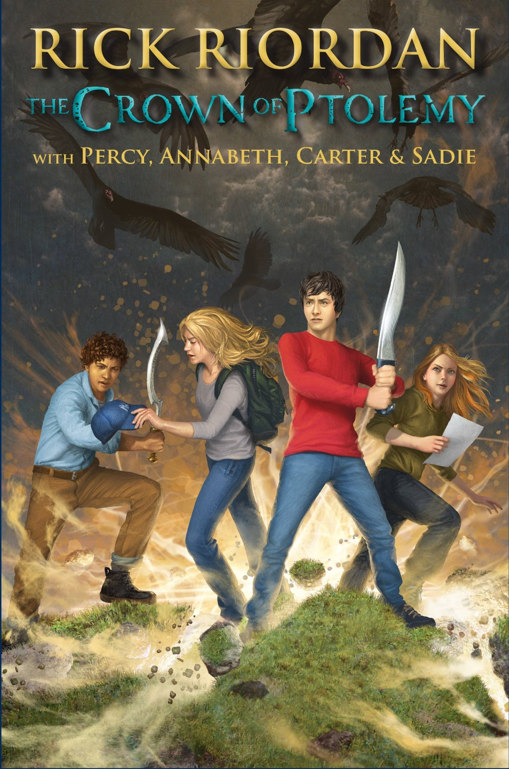 rick riordan � the crown of ptolemy rick riordan book list