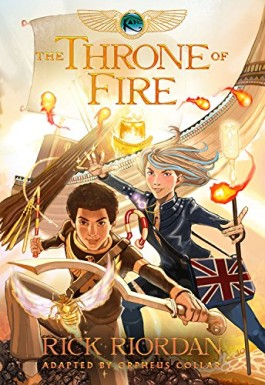 Rick Riordan The Throne Of Fire Graphic Novel