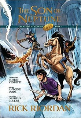 Rick Riordan The Son Of Neptune Graphic Novel