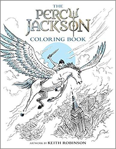 Rick Riordan The Percy Jackson Coloring Book