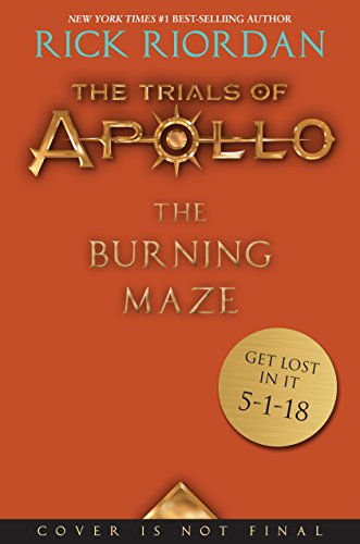 Rick Riordan The Burning Maze