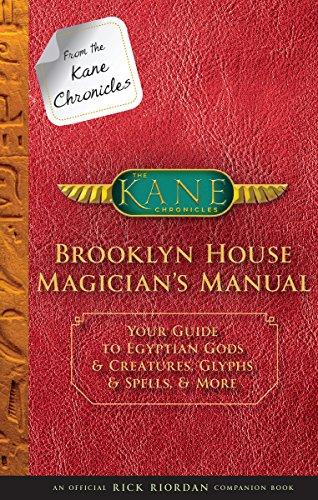 Rick Riordan Brooklyn House Magician's Manual