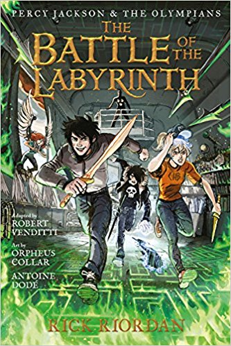 Rick Riordan - The Battle Of The Labyrinth (Graphic Novel)
